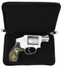 Garrison Grip Lockable Concealed Carry or Bookshelf Semi Hard Shell Bible Gun Case with Gold Leaf Lettering for Small Sized Guns (GTS)