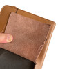 Garrison Grip Quality Brazilian Leather CCW Day Planner Gun Case for Carry or Storage with Engraved Lettering for LRG/SM Guns (TAN)