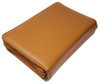 Tan Brazilian Leather Day Planner Gun Case With Engraved Letters LRG/SM Guns