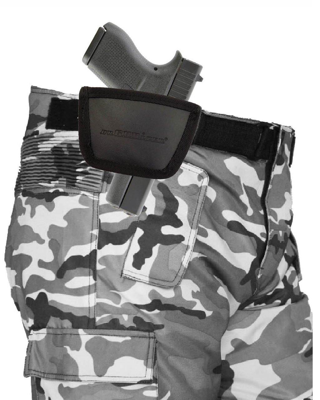 Garrison Grip Leather Inside and Outside Waistband Easy Slide Holster Fits Glock 42 (SAF)