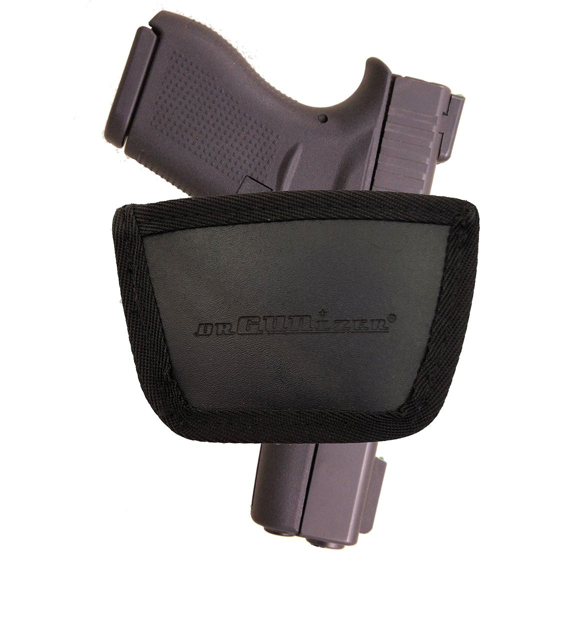 Garrison Grip Leather Inside and Outside Waistband Easy Slide Holster Fits Glock 43 (SAF)