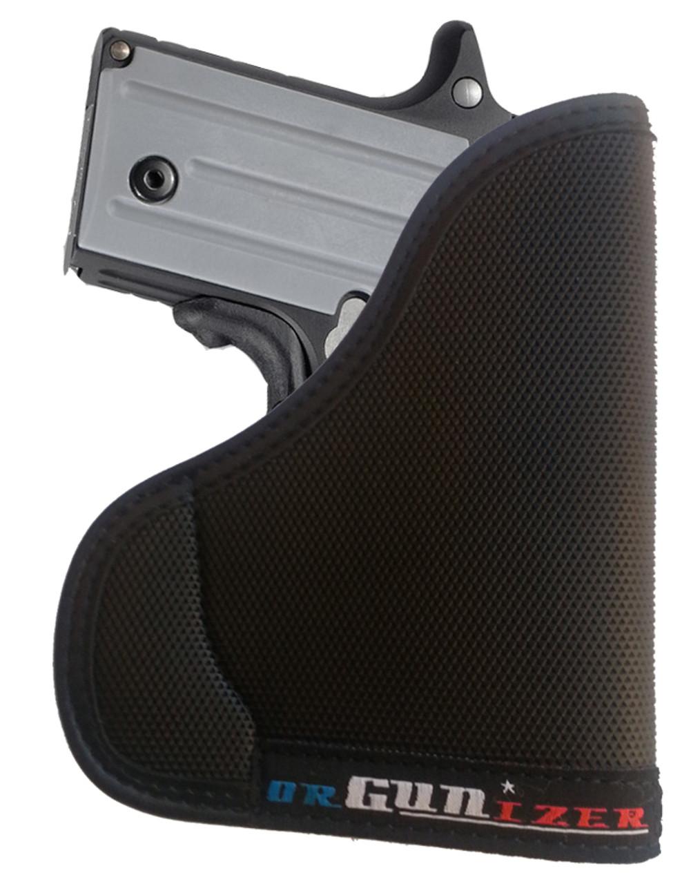 Sig Sauer P238 380 w / Crimson Trace Laser Ambidextrous orGUNizer Pocket Holster by Garrison Grip (C )
