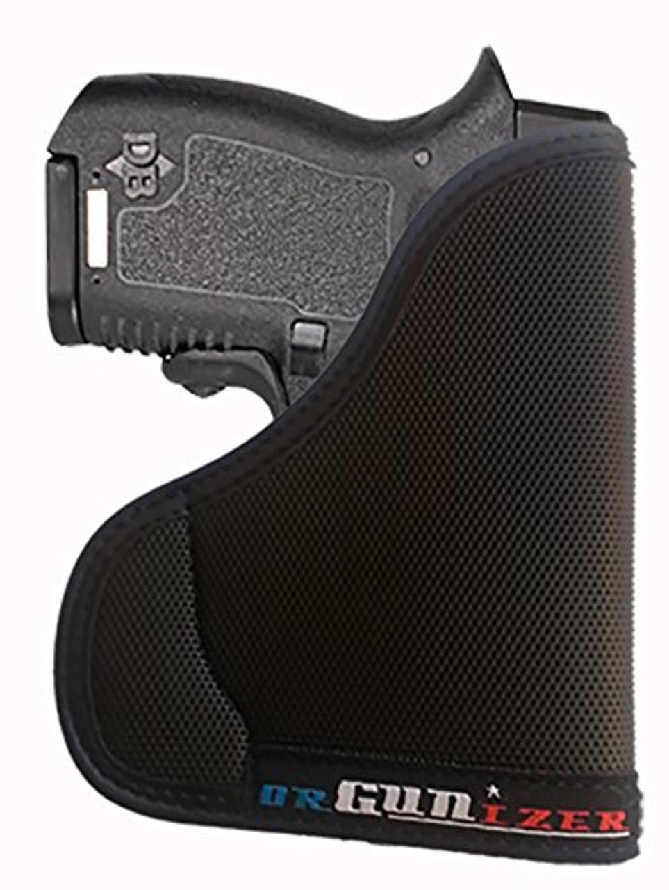 Diamondback DB380 Ambidextrous Custom Fit Leather Trimmed orGUNizer Pocket Holster by Garrison Grip (A)