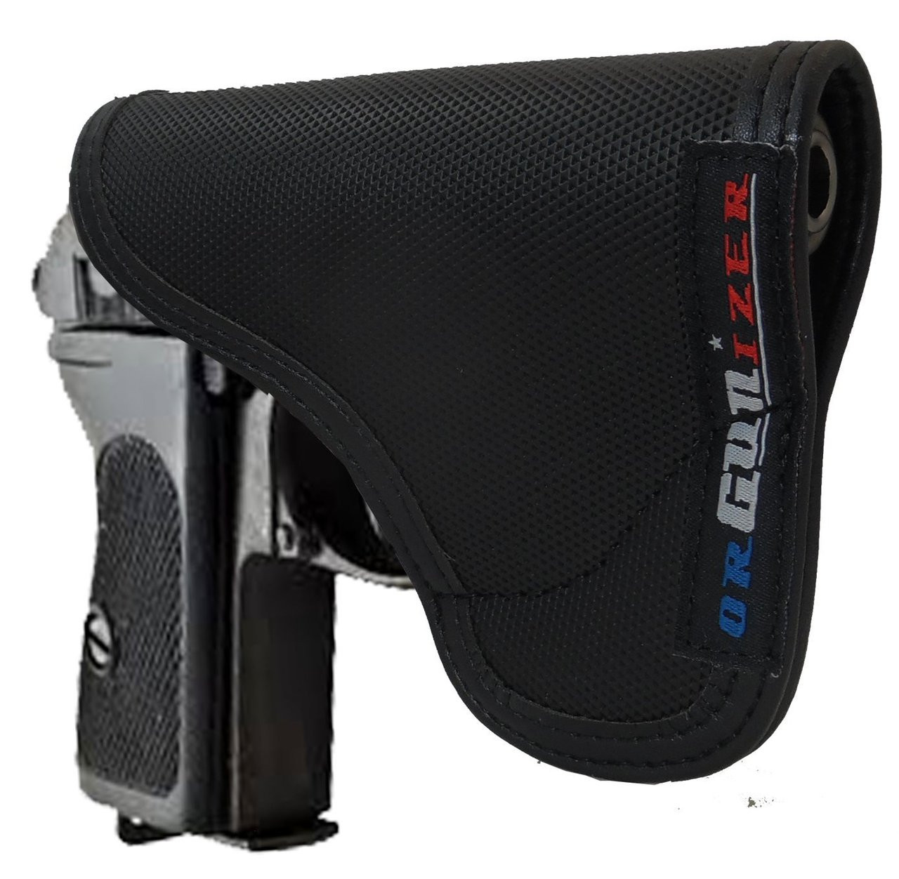 Walther PPK Ambidextrous Custom Fit Leather Trimmed orGUNizer Pocket Holster by Garrison Grip (C)