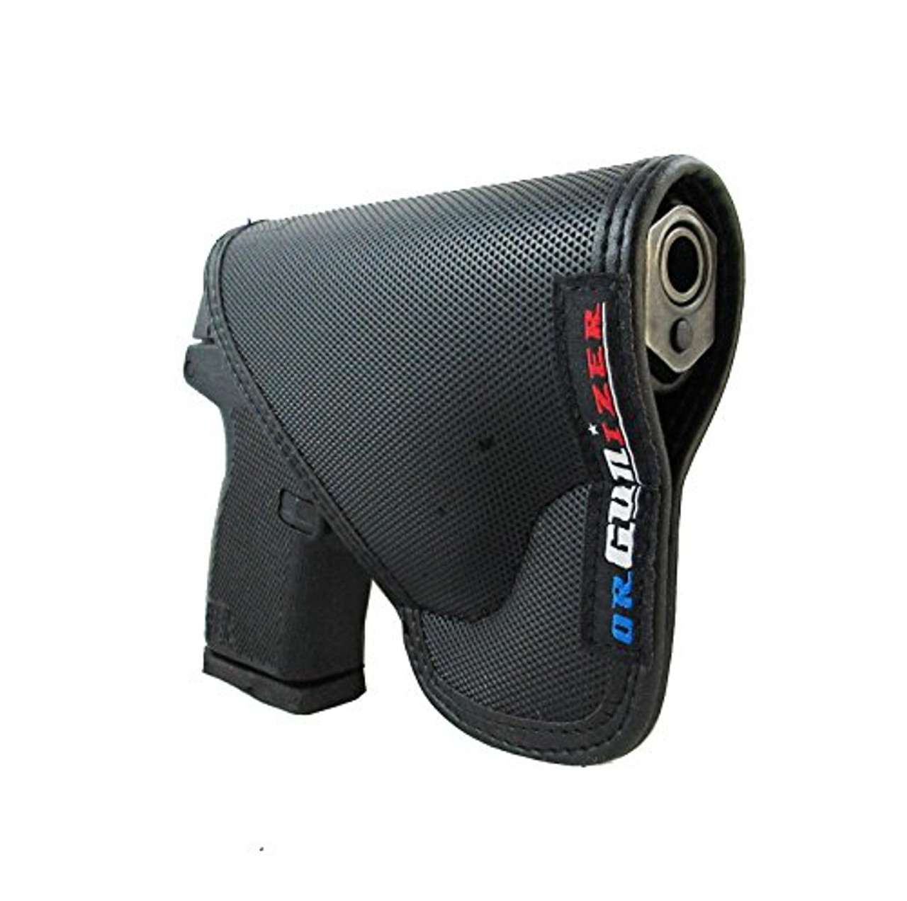 Kel-Tec P-11 Custom Fit Leather Trimmed D orGUNizer Poly Pocket Holster For Concealed Carry Comfort (D)