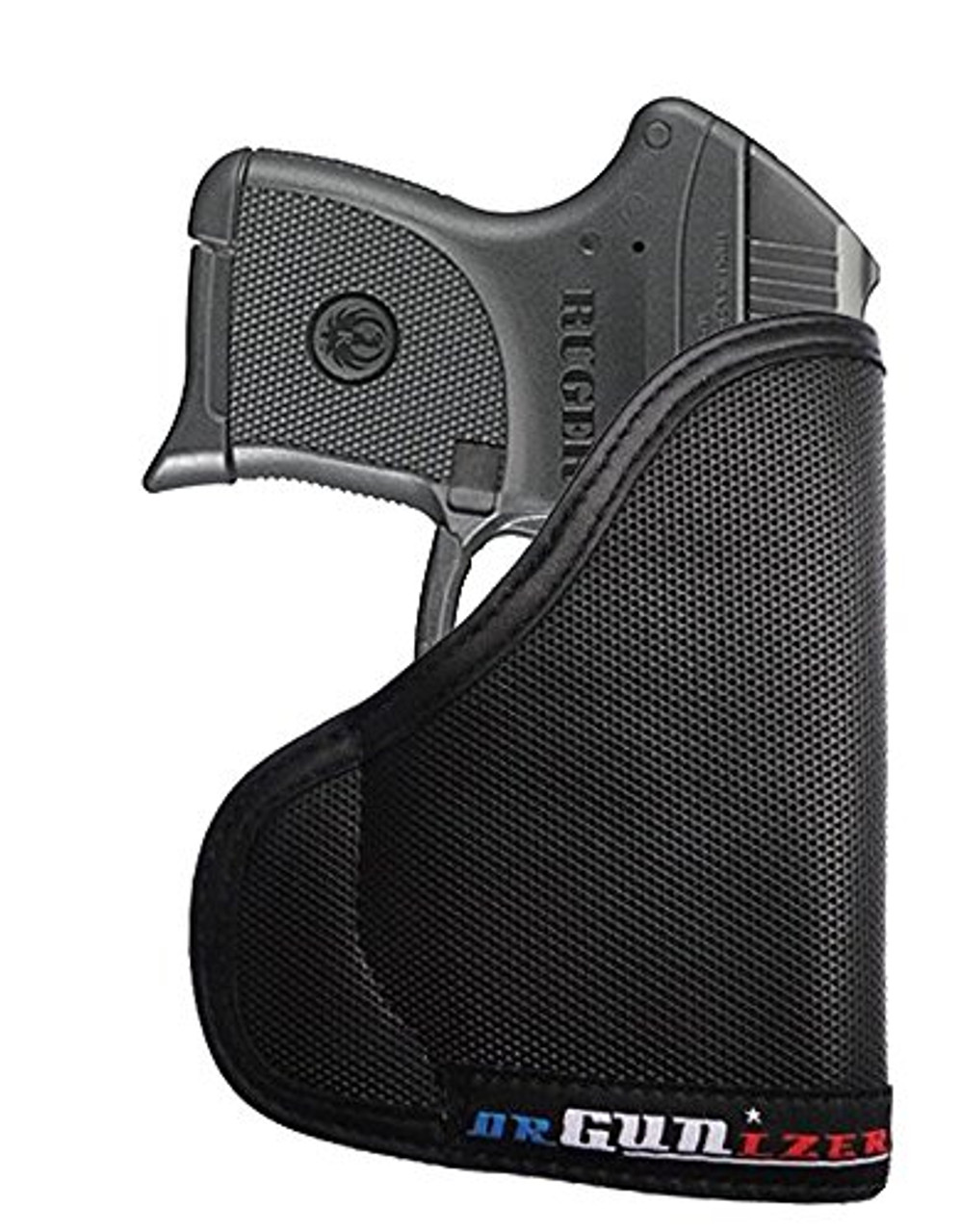 Ruger LC9 with Armalaser Custom Fit Leather Trimmed orGUNizer Poly Pocket Holster For Concealed Carry Comfort (D)