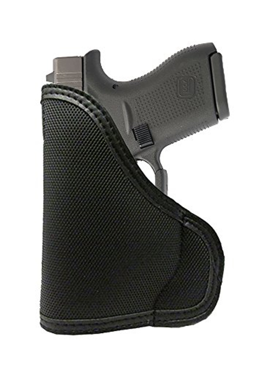 Ruger LC9 with Armalaser Custom Fit Leather Trimmed orGUNizer Poly Pocket Holster For Concealed Carry Comfort (D)