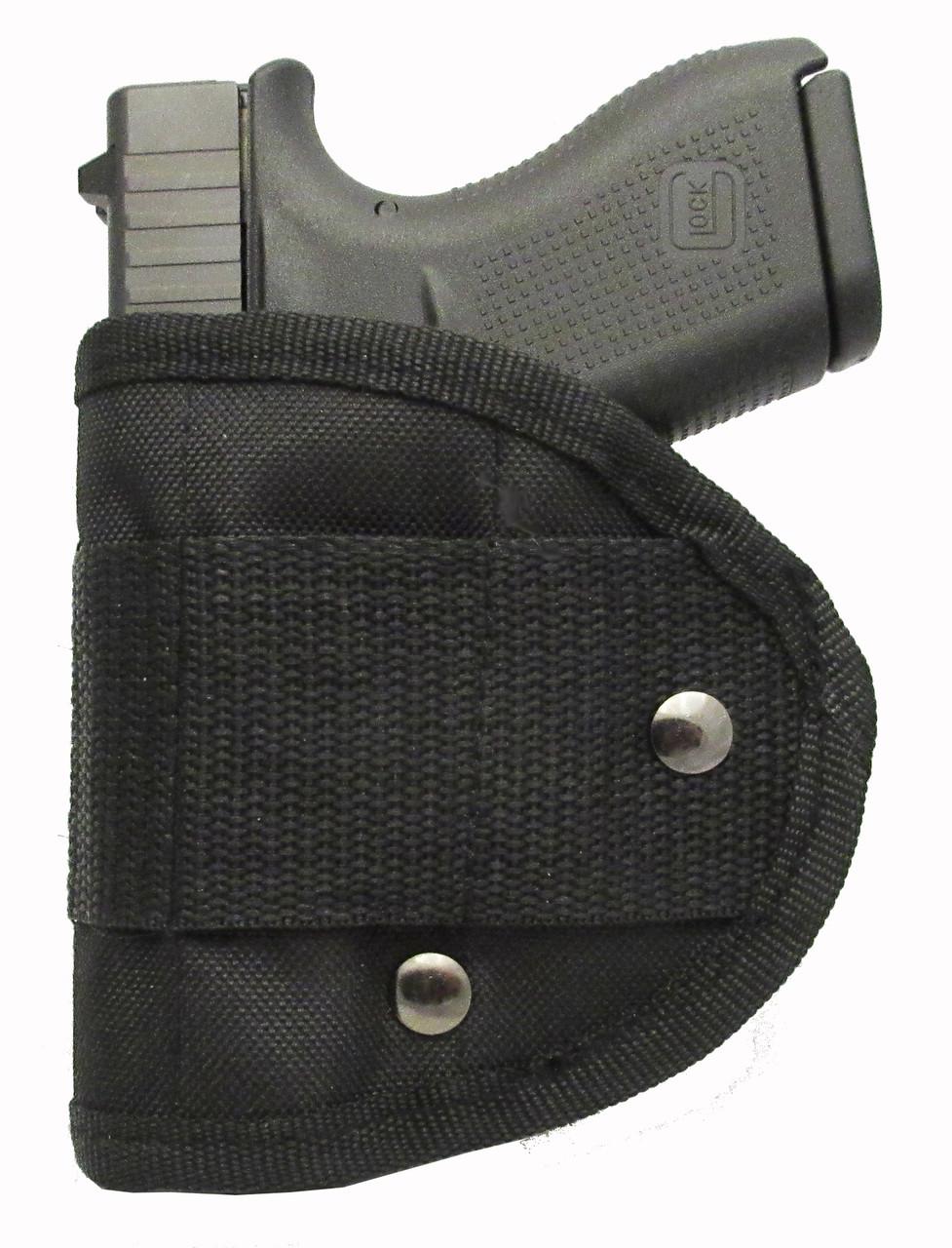 Inside Waistband Poly Sling Holster Fits Glock 42 380 IWB (M1)