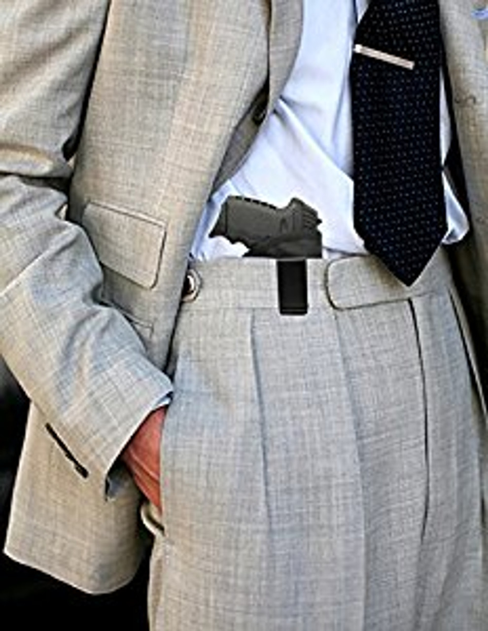 Inside Waistband Poly Sling Holster Fits SCCY CPX-1 CPX-2 with LaserLyte IWB (ML4)