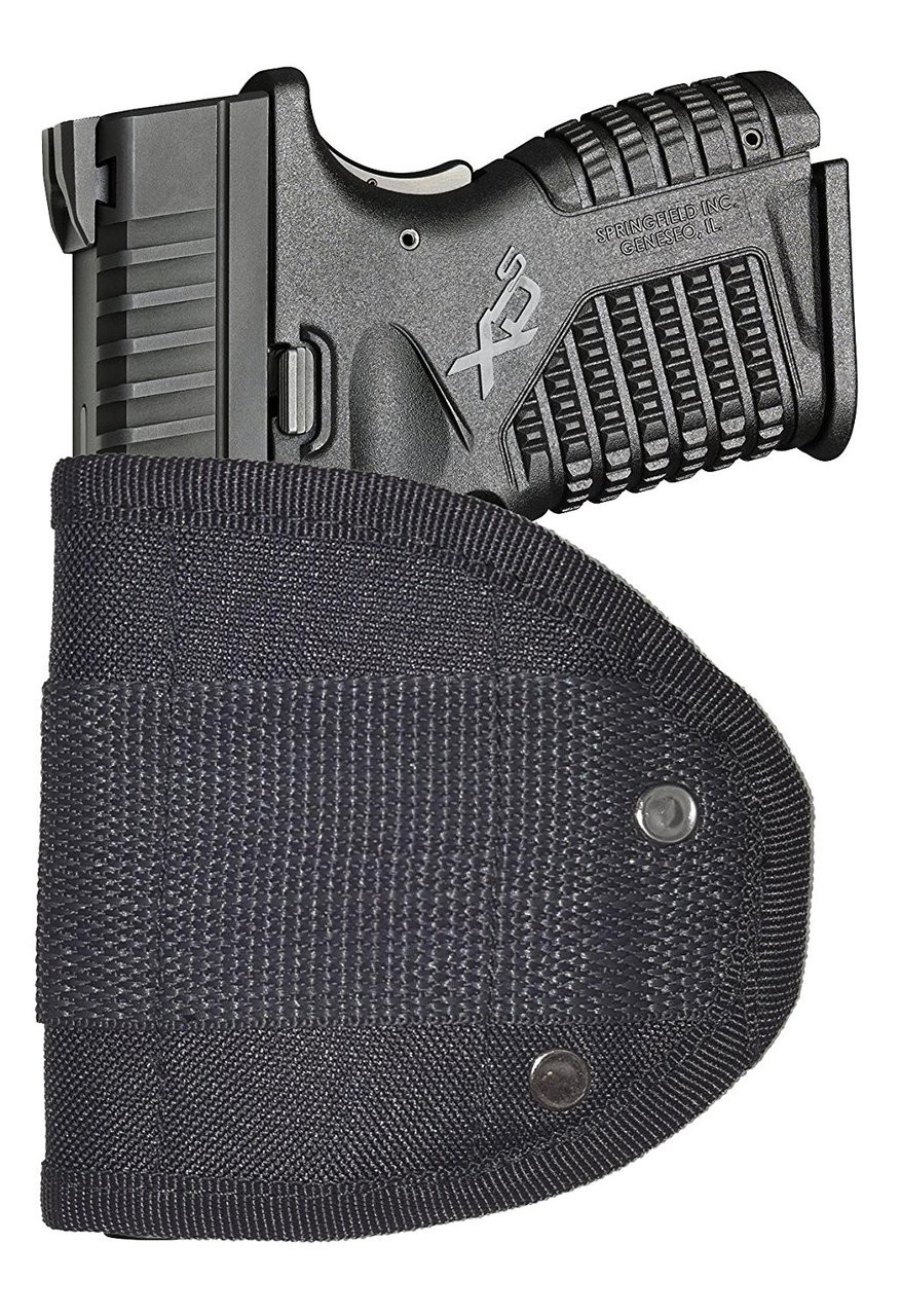 Inside Waistband Poly Sling Holster Fits Springfield XDs 45 with Laser IWB (ML7)