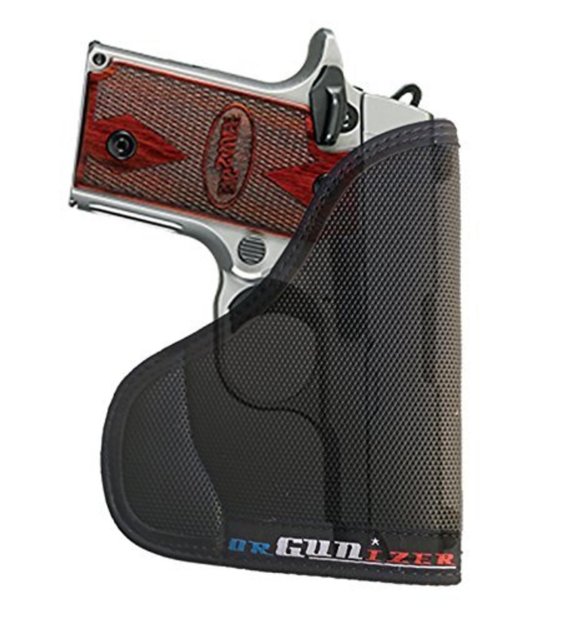 Garrison Grip Custom Fit Leather-Trimmed Pocket Holster Concealed Carry Comfort, Sig Sauer P238 (A)