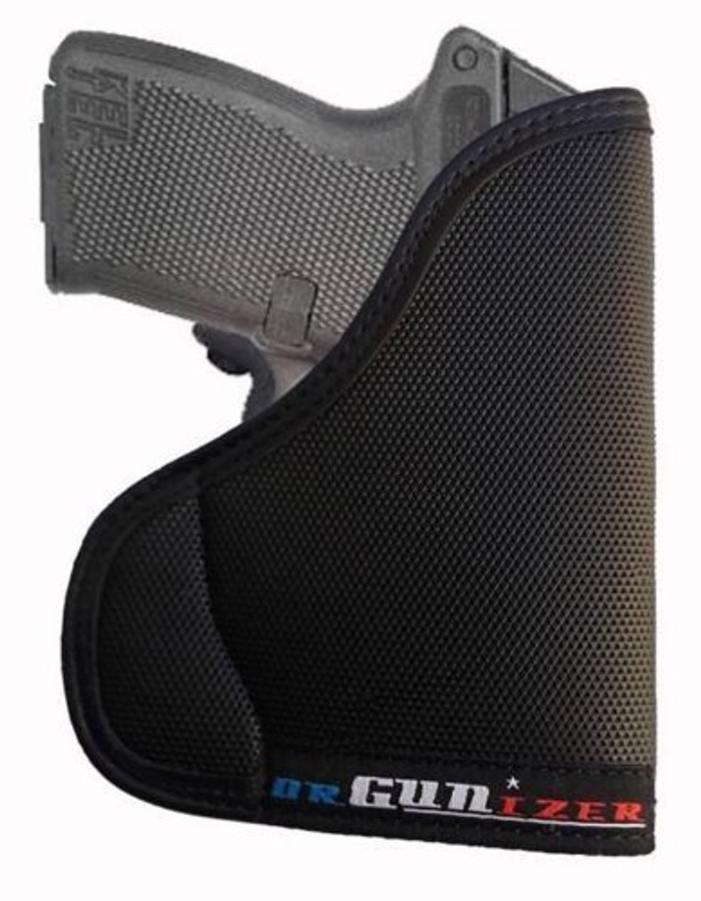 Garrison Grip Custom Fit Leather-Trimmed Pocket Holster Concealed Carry Comfort, Kel-Tec P32 w/Crimson Trace LG-430 (C)