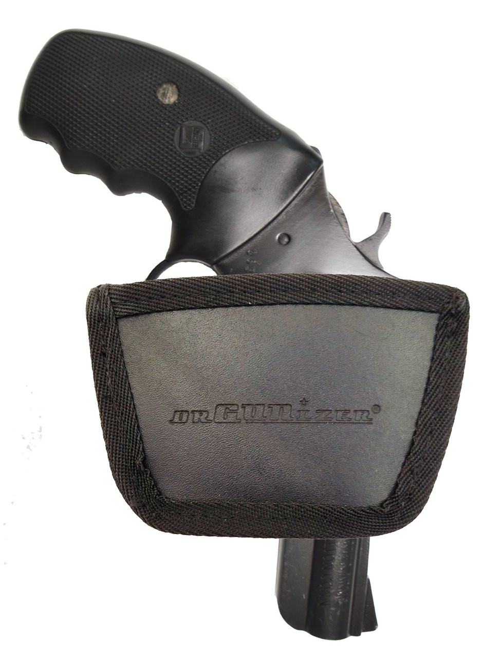 Garrison Grip Leather Inside and Outside Waistband Easy Slide Holster Fits Charter Arms Revolver (SLH) Black