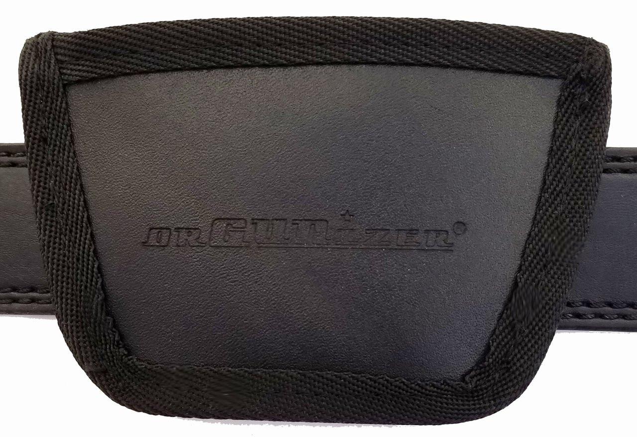 Garrison Grip Leather Inside and Outside Waistband Easy Slide Holster Fits Glock 42 (SLH) Black