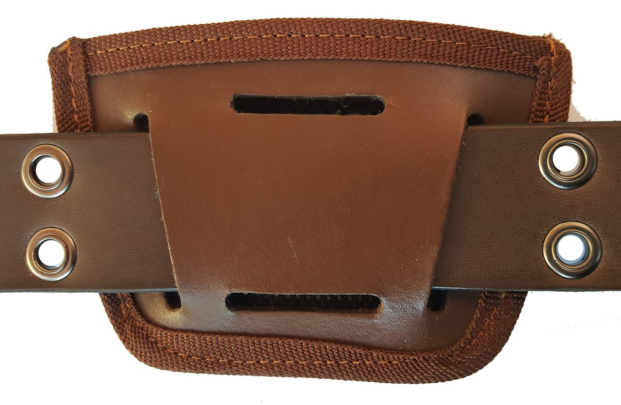 Garrison Grip Leather Inside and Outside Waistband Easy Slide Holster Fits Kel-Tec PF9 Brown