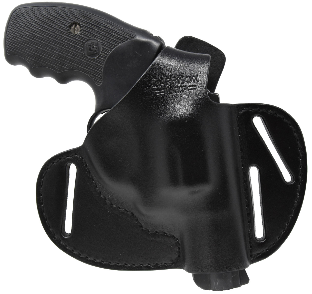 Garrison Grip Premium Full Grain Black Italian Leather 2 Position Tactical  Holster Fits Charter Arms 38 Special Undercover and Southpaw Revolvers