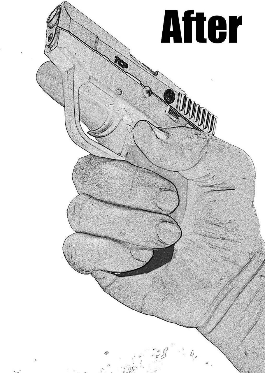 Garrison Grip 1.25 Inch Grip Extension Fits Taurus PT732  PT738 & TCP 380