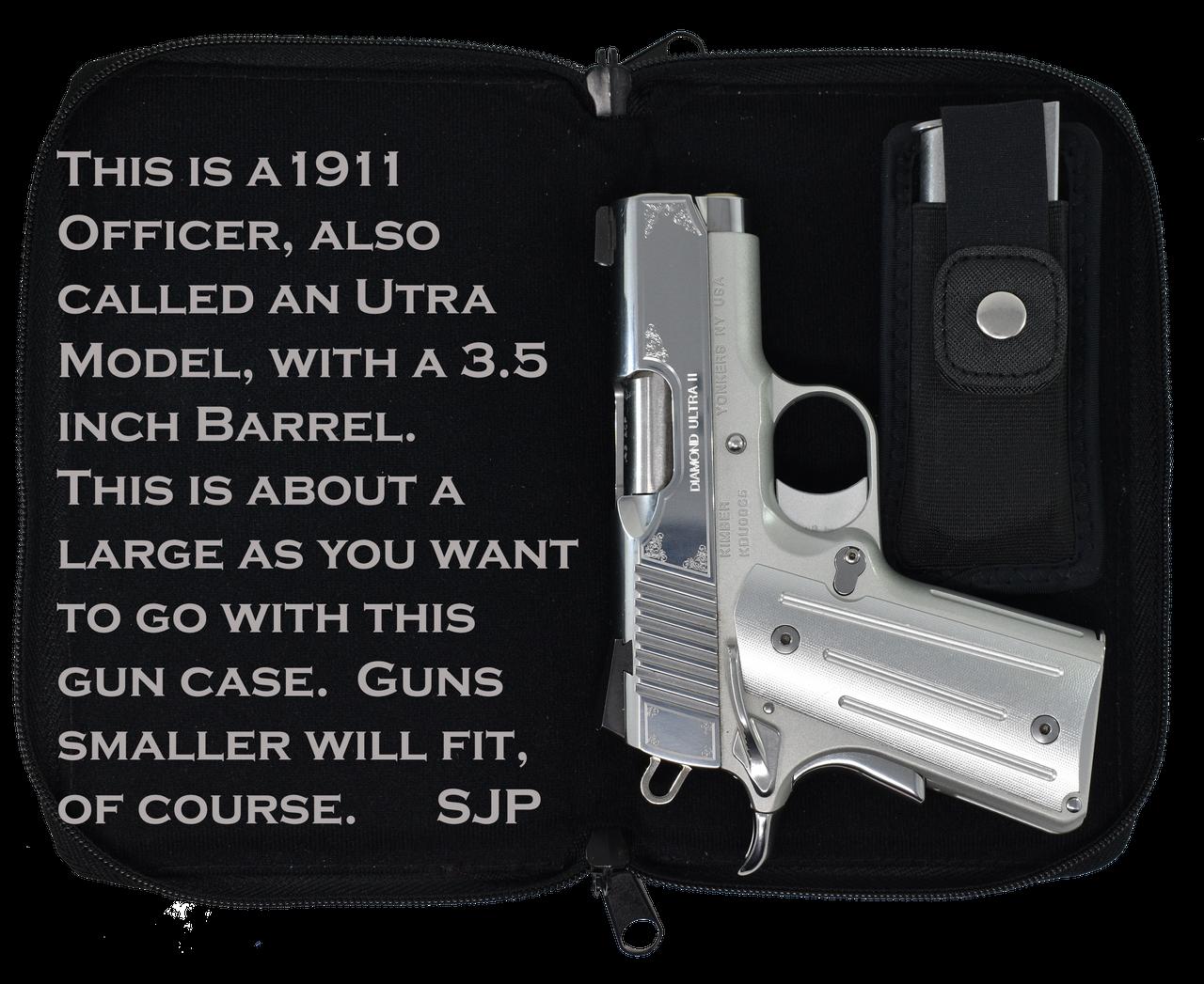 Garrison Grip Quality Leather CCW Bible Gun Case for Compact and Subcompact Guns (GTSN) TURQ