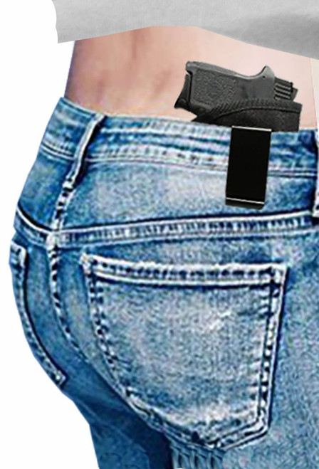 Smith & Wesson Bodyguard 380 Professional Design Custom Fit Inside Waistband Easy Draw Poly Comfort Woven Holster by orGUNizer (S1)