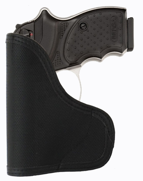 Bersa Thunder All 380 and .22 Cal Ambidextrous Custom Fit Leather Trimmed orGUNizer Pocket Holster by Garrison Grip (A)