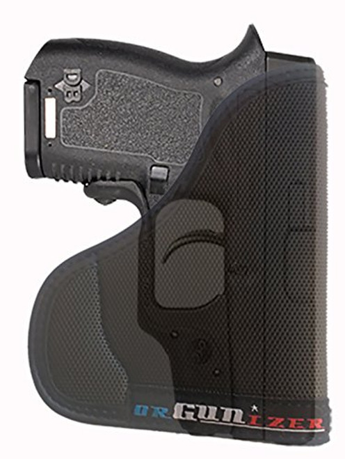 Diamondback DB380 Ambidextrous Custom Fit Leather Trimmed orGUNizer Pocket Holster by Garrison Grip (A)