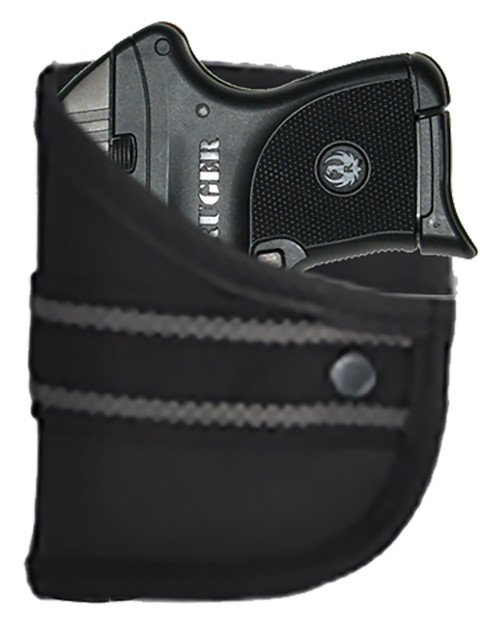 Woven Poly Pocket Holster Fits Ruger LCP 380 with Lasermax (W2)