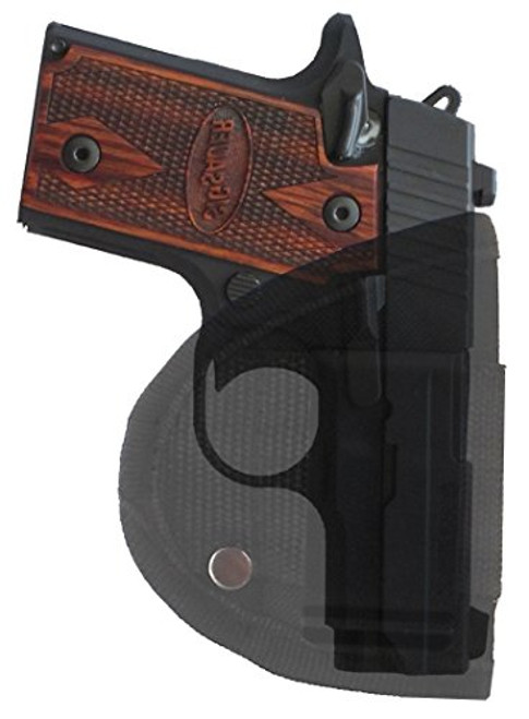 Sig Sauer P238 Custom Fit Inside Waistband Easy Draw Woven Poly Comfort Holster by Garrison Grip IWB (S1)
