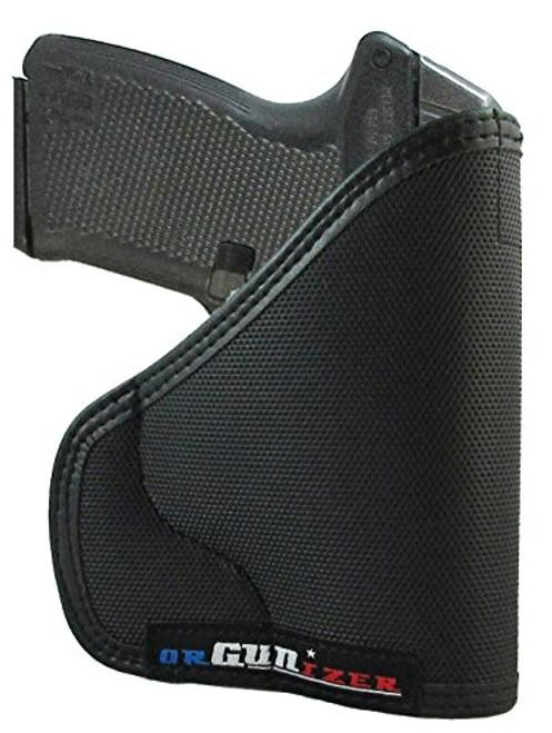 Kel-Tec P-11 Custom Fit Leather Trimmed D orGUNizer Poly Pocket Holster For Concealed Carry Comfort (D)