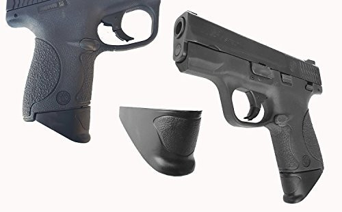 "1"" Grip Extension Extra Long Fits Smith & Wesson M&P Shield 9mm & 40 Caliber"