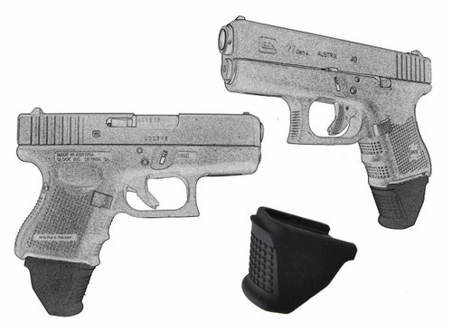 """1.25"""" Grip Extension Extra Long Fits Glock Models 26 27 33 39 Sub-Compact"""