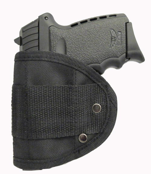Inside Waistband Poly Sling Holster Fits SCCY CPX-1 and CPX-2 9mm IWB (MS1)