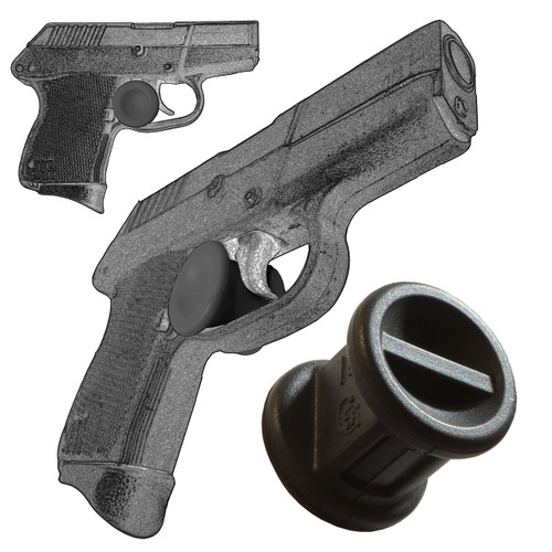 Trigger Stop Holster Fits Kel-Tec P3AT 380 Black s20