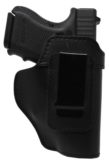 Garrison Grip Black Leather IWB Holster for Glock 26 up