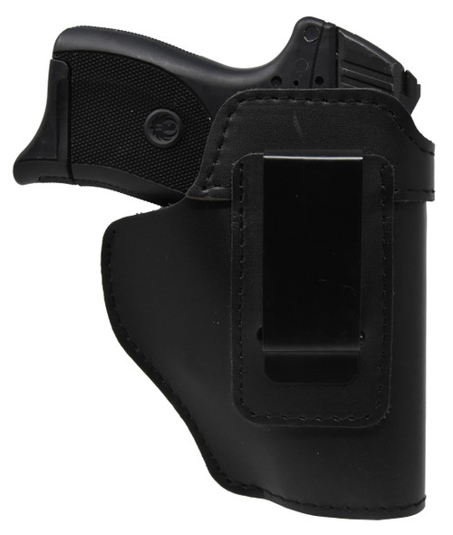 Garrison Grip Black Leather IWB Holster for Ruger LC 9 EC 9