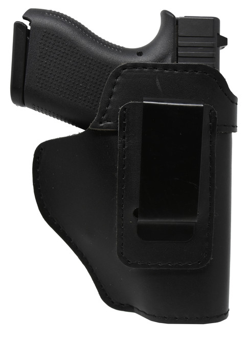 Garrison Grip Black Leather IWB Holster for Glock 17 up