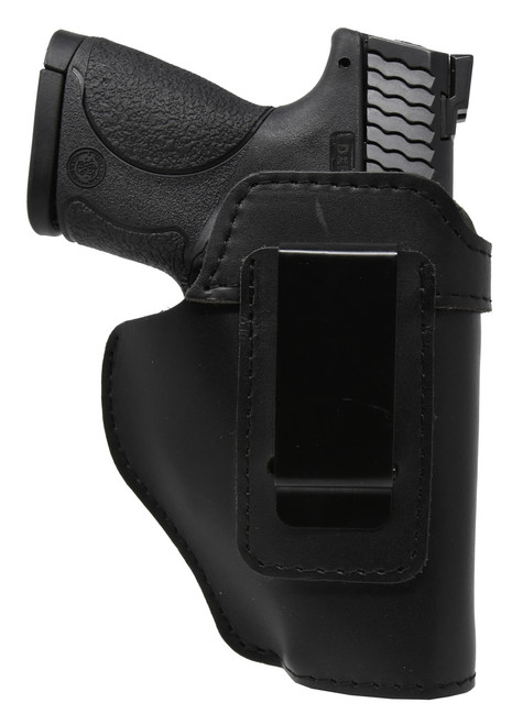 Garrison Grip Black Leather IWB Holster for S&W M&P Shield 40c