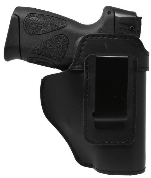Garrison Grip Black Leather IWB Holster for Taurus PT111 G2 \Millennium