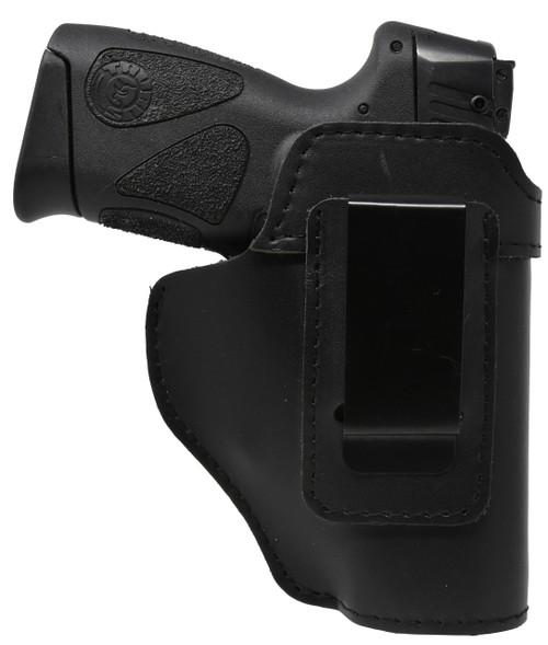 Garrison Grip Black Leather IWB Holster for Taurus PT111 Gen2 G2  G2c Millennium