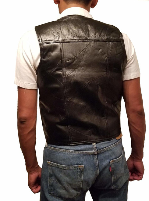 "Garrison Grip CCW Genuine Leather Ambidextrous Concealed Carry Vest 2X-Large (53.5"") JD-4"