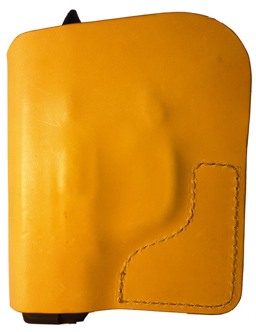 Tan Italian Leather Pocket Holster for Diamondback 9mm and Similar Guns
