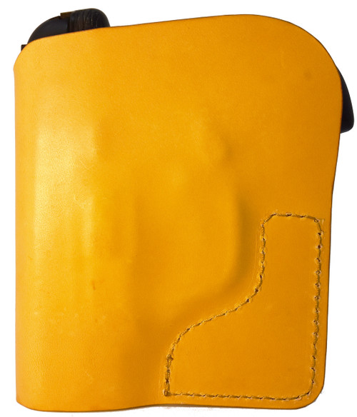 Tan Italian Leather Pocket Holster for Taurus Spectrum 380 and Similar Guns