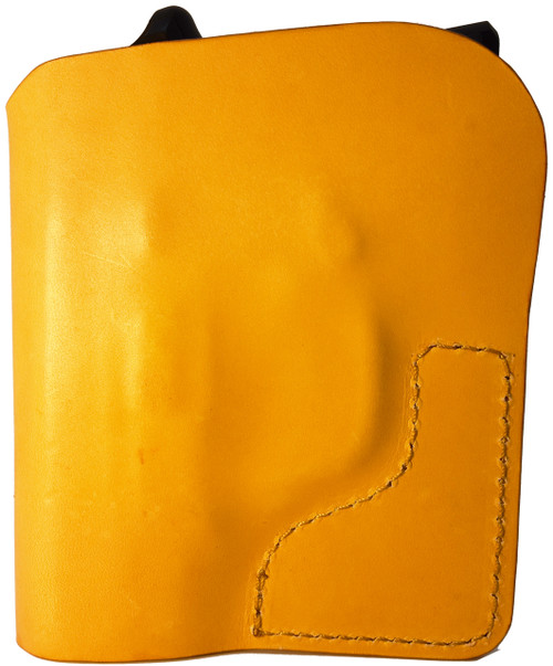 Tan Italian Leather Pocket Holster for Remington 380 and Similar Guns