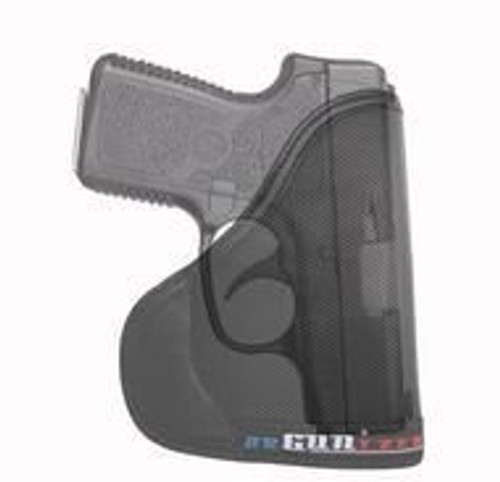 Garrison Grip Custom Fit Leather-Trimmed Pocket Holster Concealed Carry Comfort, Kahr P380 (C)