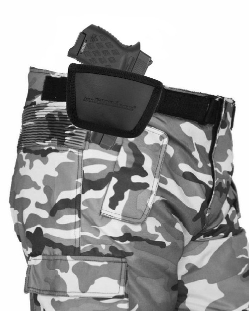 Garrison Grip Leather Inside and Outside Waistband Easy Slide Holster Fits Diamondback DB380 Black