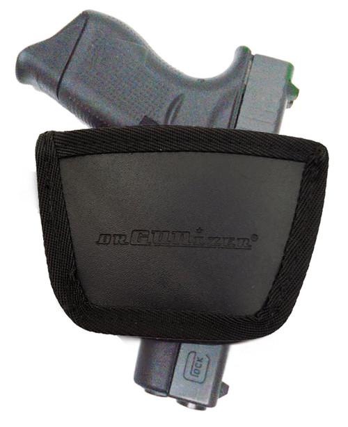 Garrison Grip Leather Inside and Outside Waistband Easy Slide Holster Fits Glock 43 (SLH) Black