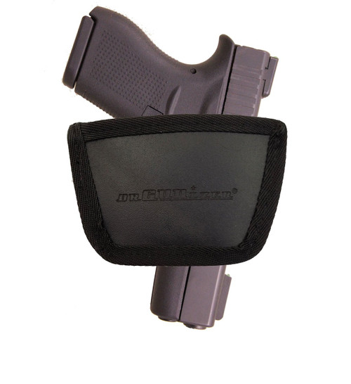 Garrison Grip Leather Inside and Outside Waistband Easy Slide Holster Fits Glock 43 (SLH) Brown