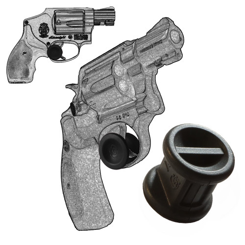 Garrison Grip Micro Trigger Stop Holster Fits Smith & Wesson  K & L Frame Revolvers All Calibers (s16)