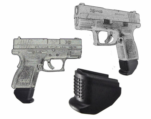 Garrison Grip 1.5 Inch  Grip Extension Fits Springfield XD9 and XD40 Sub Compact