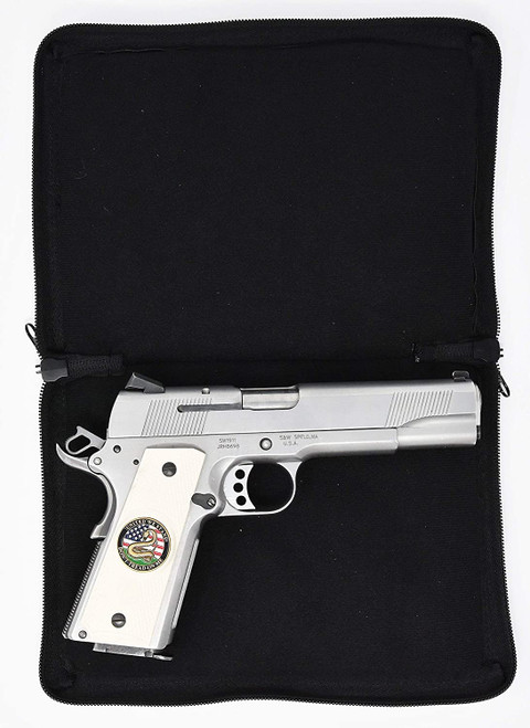 Garrison Grip CCW Day Planner Semi Hard Gun Case for Small  to Medium Sized Gun