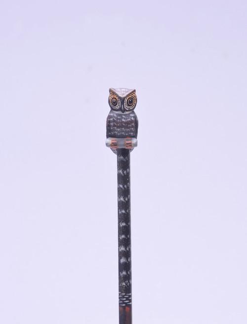 Long Eared Owl Hand Made Pencil